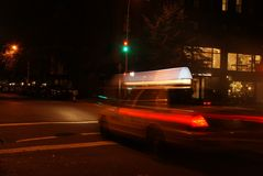 New York Taxi Cab Stock Photography