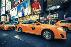 New York taxi Stock Photo