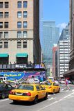 New York taxi Stock Photos