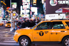 New York taxi Royalty Free Stock Photos