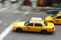 New York Taxicabs Royalty Free Stock Image