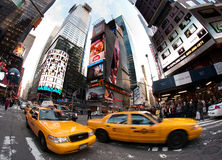 New York taxis Stock Photos