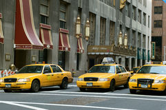 New York Taxis Royalty Free Stock Photo