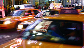New York Taxis Stock Image