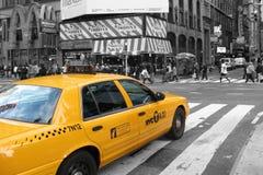 New York taxitaxi Arkivfoton