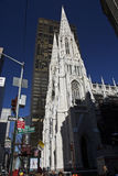New york 5th avenue church, manhattan Stock Photo