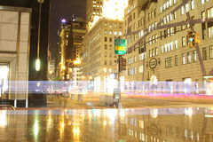 New-york 5th Avenue. At the intersection of 5th ave and 59th street Stock Photography