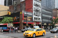 New York 8th Avenue Stock Photo