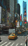 New York Theatre District USA Royalty Free Stock Photography