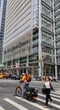New York Times budynek w Miasto Nowy Jork zdjęcie stock