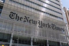 New York Times buiilding à New York City Photo libre de droits
