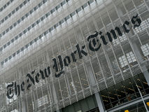 New York Times Building Royalty Free Stock Images