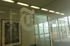 New York Times Building Royalty Free Stock Photography