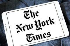 New York Times gazety logo obrazy stock