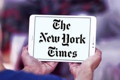 New York Times gazety logo zdjęcie royalty free