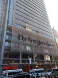 The New York Times. New York City royalty free stock photo