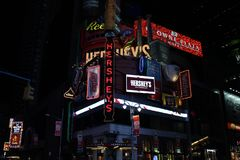 Times Square. New York Royalty Free Stock Photo