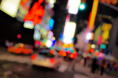 New York Times Square. Blur stock photos