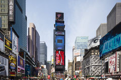 New York Times Square, editorial Royalty Free Stock Image