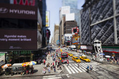 New York Times Square, editorial Royalty Free Stock Images