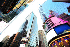 New York Times Square. Trademarks are removed Royalty Free Stock Photo