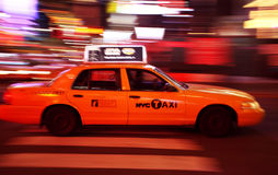 New York Times Square traffic Stock Images