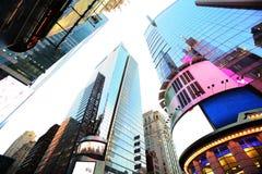 New- York Timesquadrat. Eingetragene Warenzeichen werden gelöscht Lizenzfreies Stockfoto
