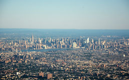 New York, top view Royalty Free Stock Photography