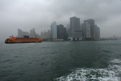 New York tormentoso Imagem de Stock Royalty Free