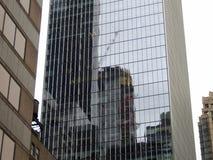 New York tornkvarter Arkivbild