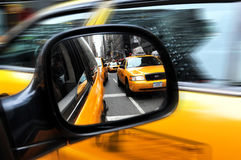 New York Traffic Royalty Free Stock Photos