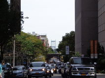 New York traffic Royalty Free Stock Images