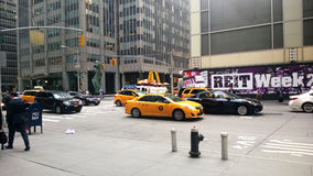 New york traffic Stock Photos