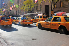 New York trafik royaltyfri foto
