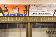 New York Transit Museum Stock Images