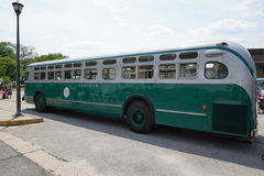 New York Transit Museum Vintage Bus Bash 3 Stock Photos