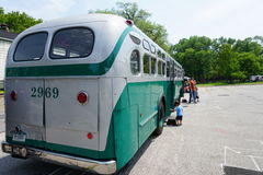 New York Transit Museum Vintage Bus Bash 5 Royalty Free Stock Image