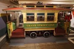 New York transportmuseum 72 Royaltyfria Bilder