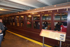 New York transportmuseum 97 Royaltyfria Bilder
