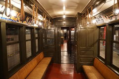 New York transportmuseum 136 Arkivbilder