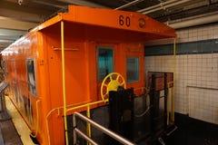 New York transportmuseum 146 Arkivfoton