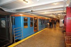 New York transportmuseum 167 Fotografering för Bildbyråer