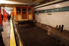 New York transportmuseum 13 Arkivbild