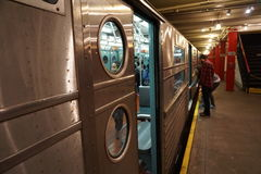 New York transportmuseum 21 Royaltyfria Bilder