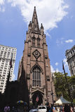 New york: trinity church Stock Images