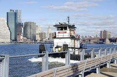 New York Tugboat Stock Photography
