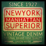 New york typography T shirt graphic . Vectors Stock Photos