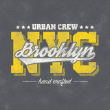 New York typography Royalty Free Stock Photography
