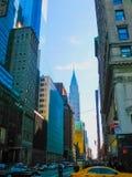 New York, U.S.A. - 13 febbraio 2013: Vista di Manhattan della città con i grattacieli Immagine Stock