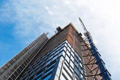 NEW YORK, U.S.A. - 22 GIUGNO 2017: Costruzioni corporative infinite, Midtown Manhattan, New York, Stati Uniti Fotografie Stock